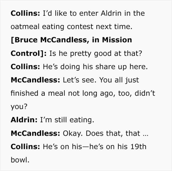 Tumblr User Publishes Real Conversations From Apollo 11 Taken From NASA Archives