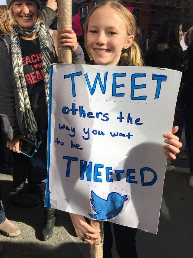 Kids Are The Best Protesters!