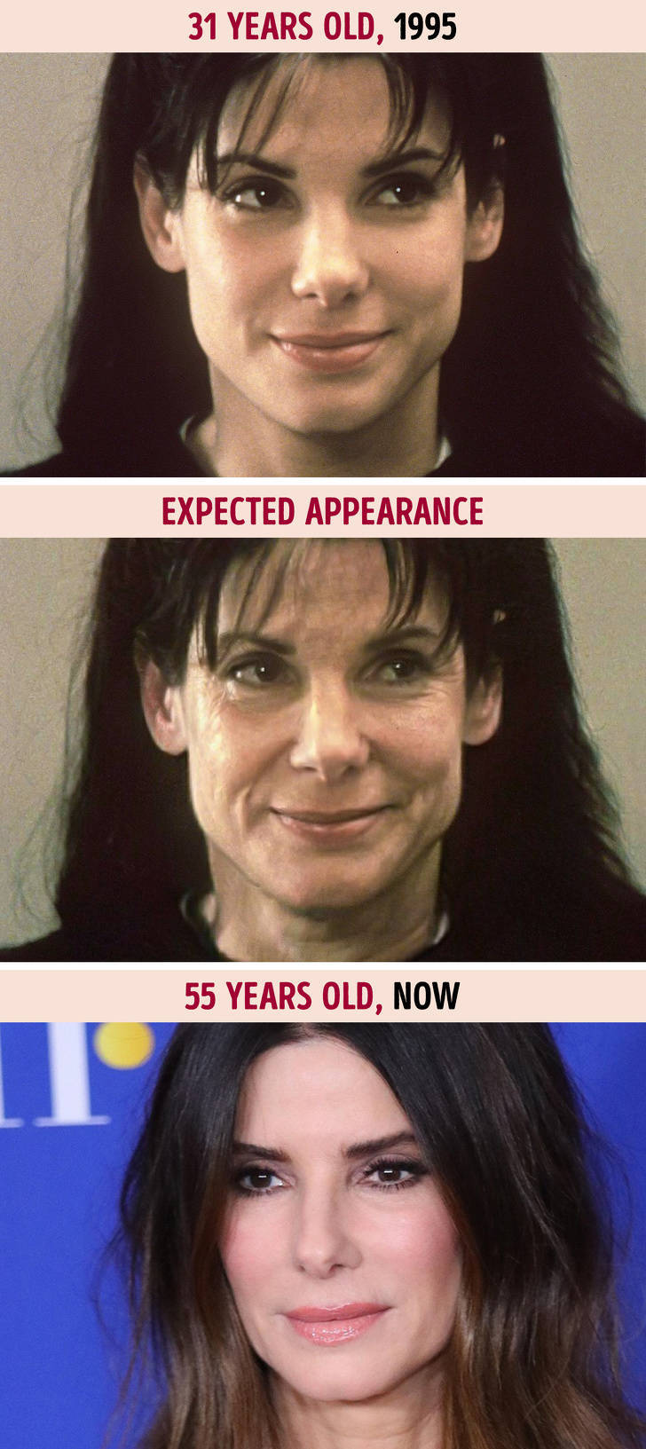 If Hollywood Stars Aged Like Normal People…