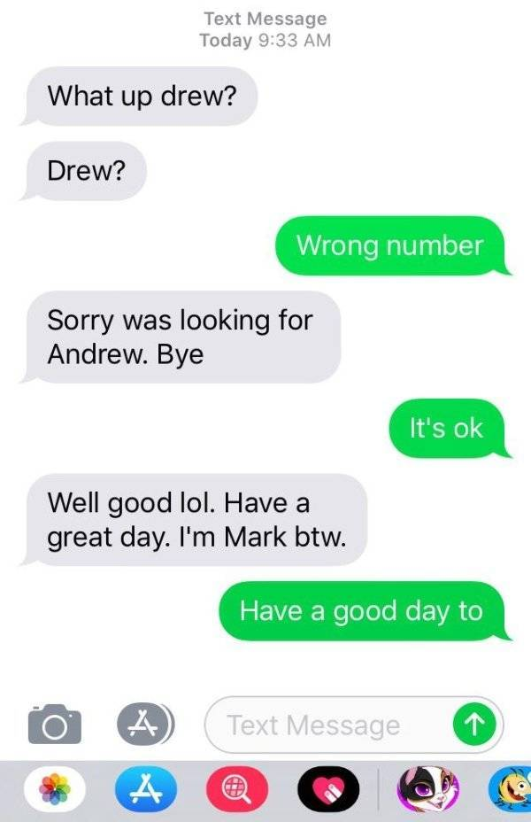 That's Not The Number You Wanted To Text…