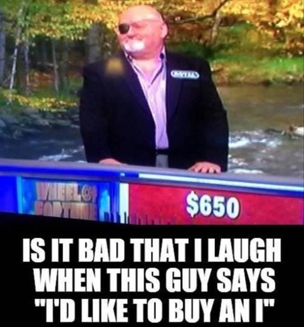 Nope, Didn't Laugh…