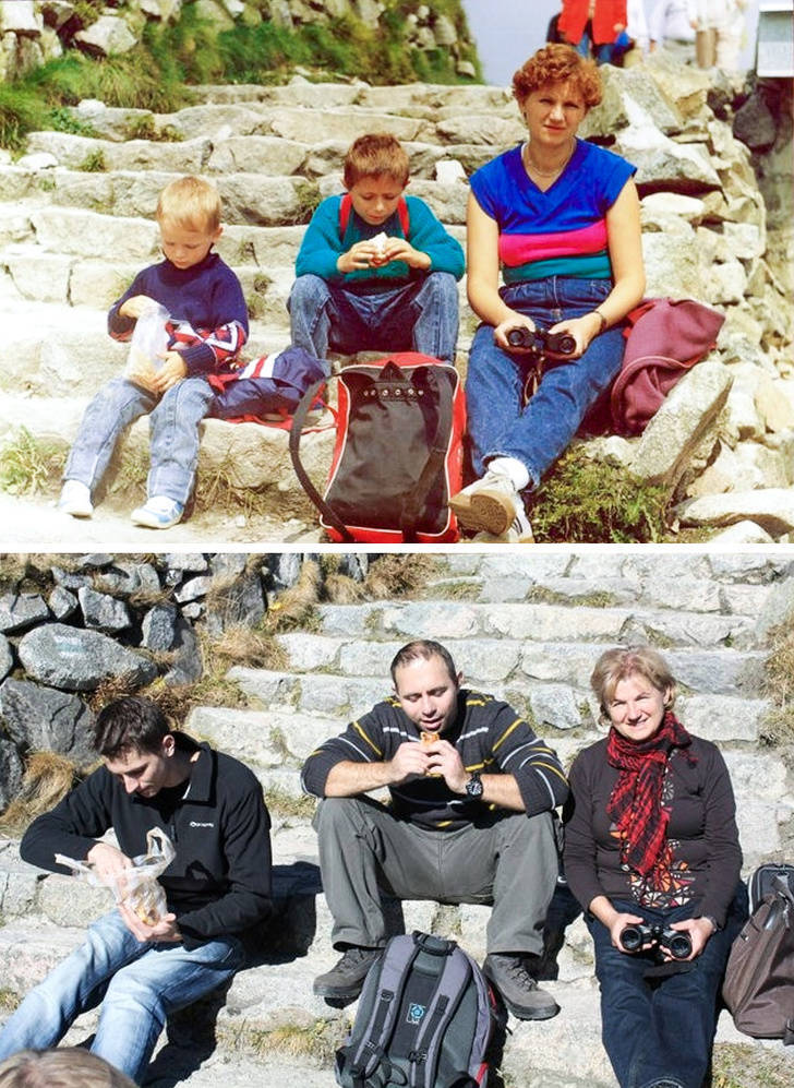 Old Family Photos, Recreated