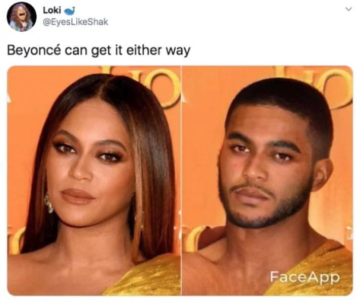 Gender Swap App, But With Celebrities