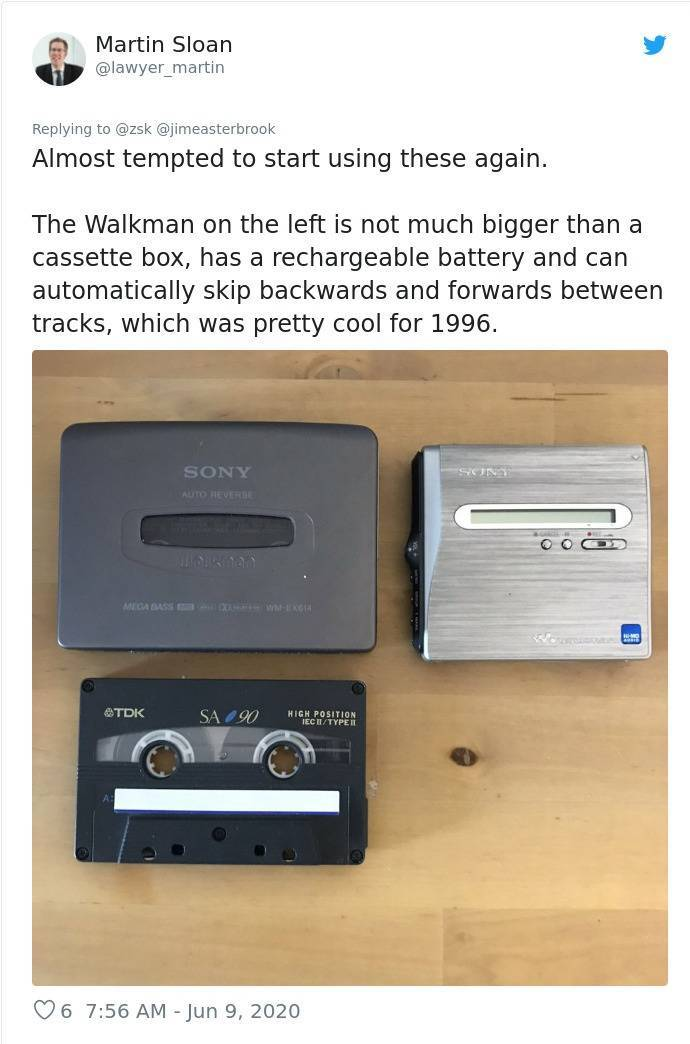 What's Your Oldest Gadget?