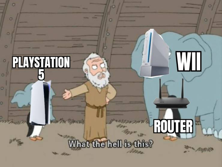 Do You Have A Router For These PlayStation 5 Memes?