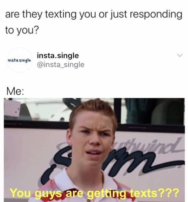 At Least Singles Have Memes!