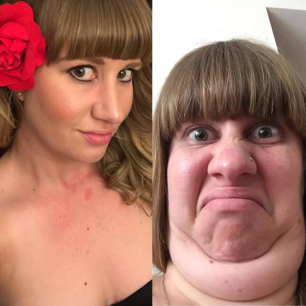 Beauties Who Went Full Derp-Mode