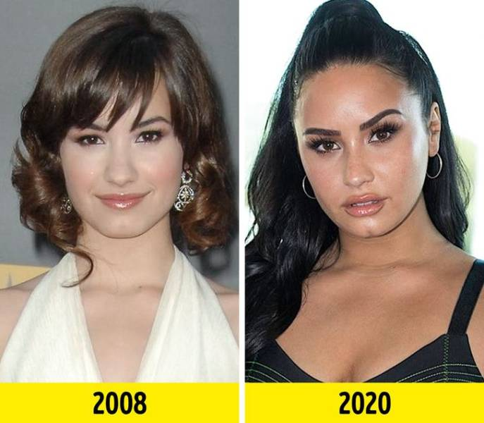 Celebrities Who've Changed A Lot Over The Years