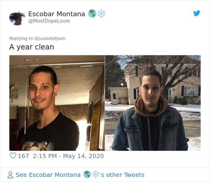 Guy Shares His Story Of Drug Addiction Recovery, Internet Joins With Their Own Stories
