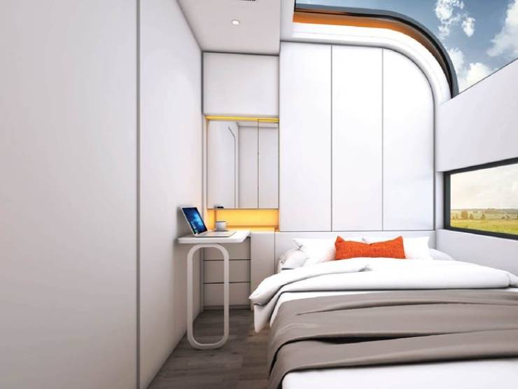 This Smart House Only Has 24 Square Meters Of Space But Four People Can Comfortably Live There!