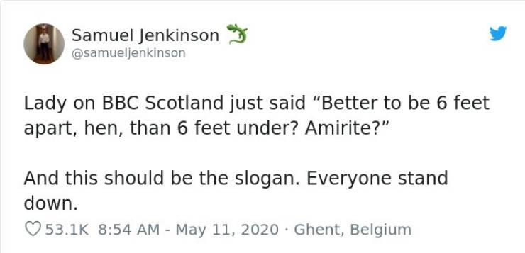 Have You Heard Scottish Humor?