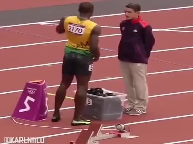 Usain Bolt, What A Great Guy!