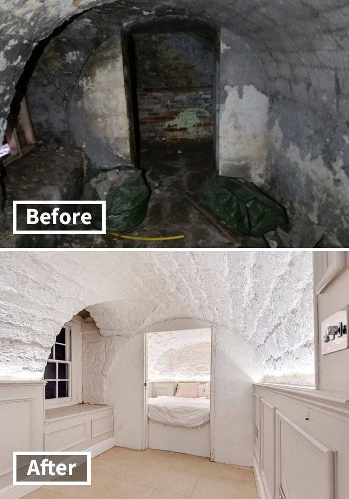 """""""Creepy Dungeon"""" Gets Turned Into A Fantastic Apartment"""