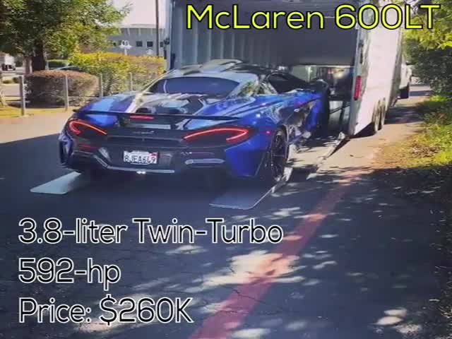 $260 Thousand McLaren Vs. A Flooded Intersection