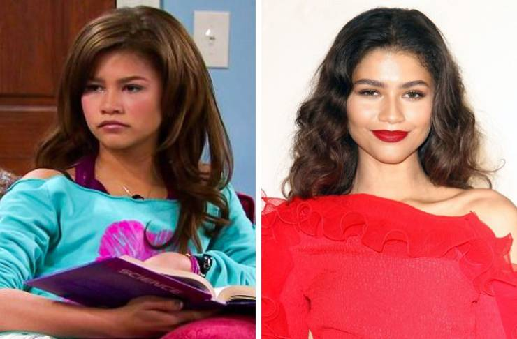 Gen Z Actors And Actresses In Their First Big Role Vs. Now (12 pics)