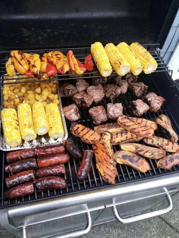 Look At This Barbecue!