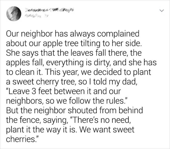 These Neighbors Are Very Special…