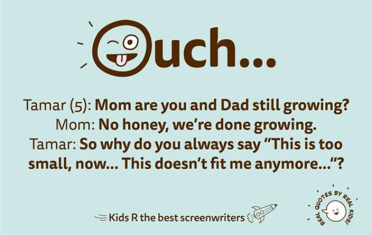 Children Come Up With The Best Quotes!
