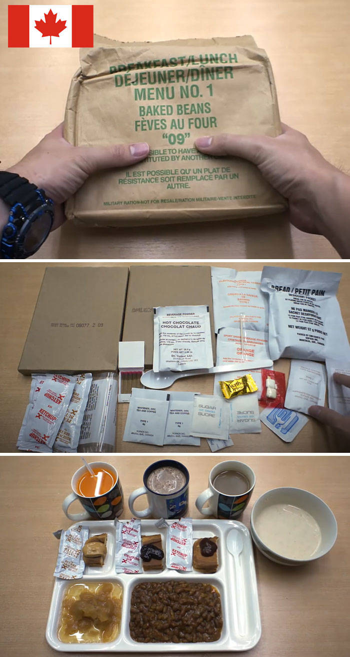 Military Food Rations Of Armies From All Over The World