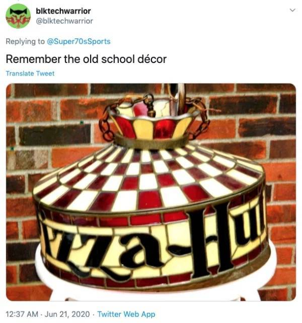 "Remember ""Pizza Hut"" Back In The"