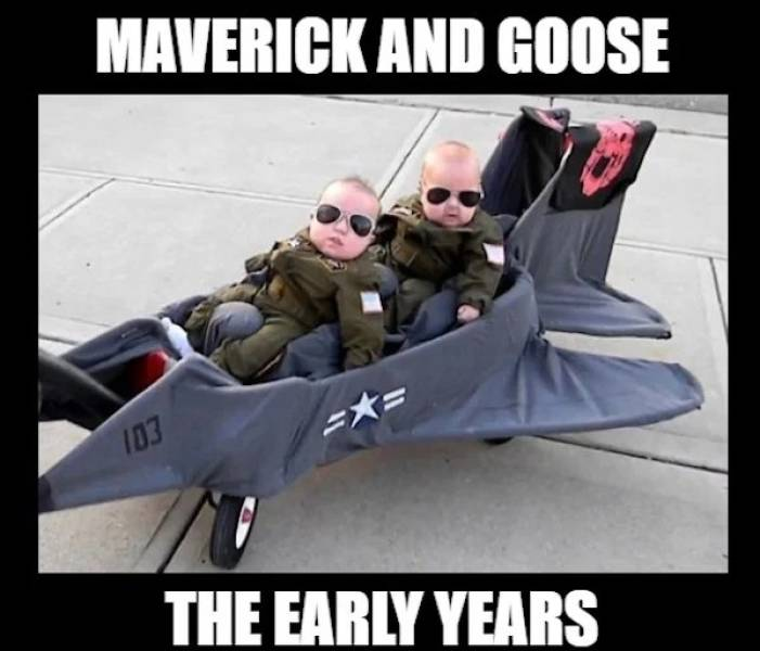 """Top Gun"" Memes Are Requesting A Flyby"