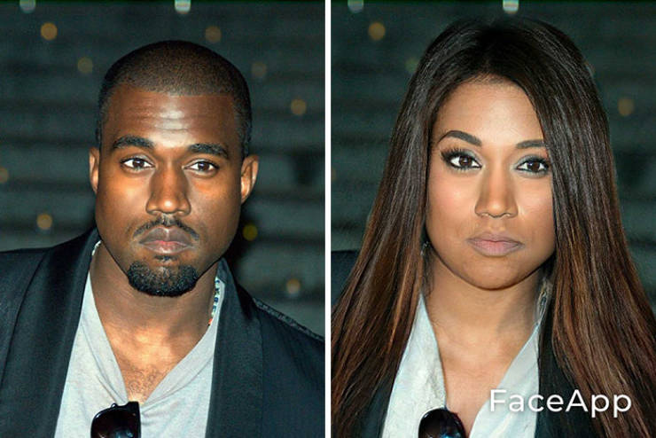 Someone Decided To Gender-Swap Celebrity Photos…