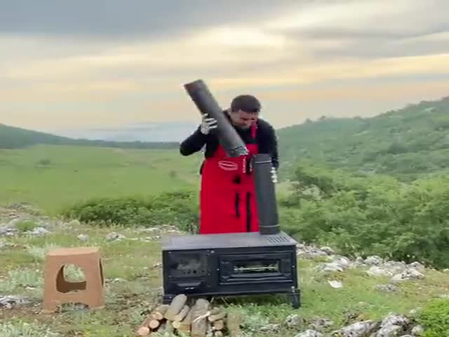 Cooking In The Field