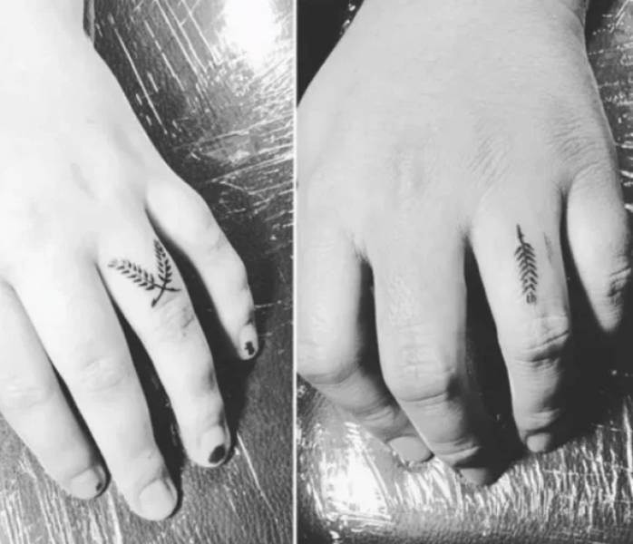 People Share Their Finger Tattoos And Their Meanings