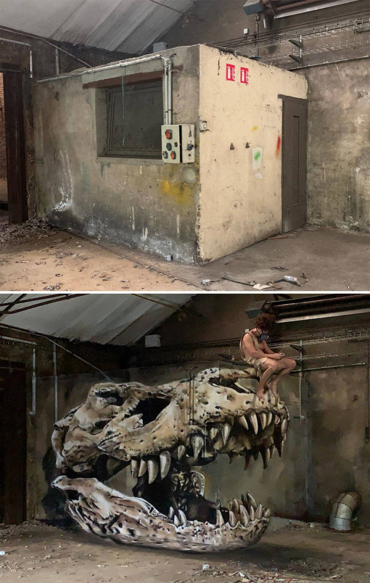 This 3D Street Art Looks Like It's Alive!