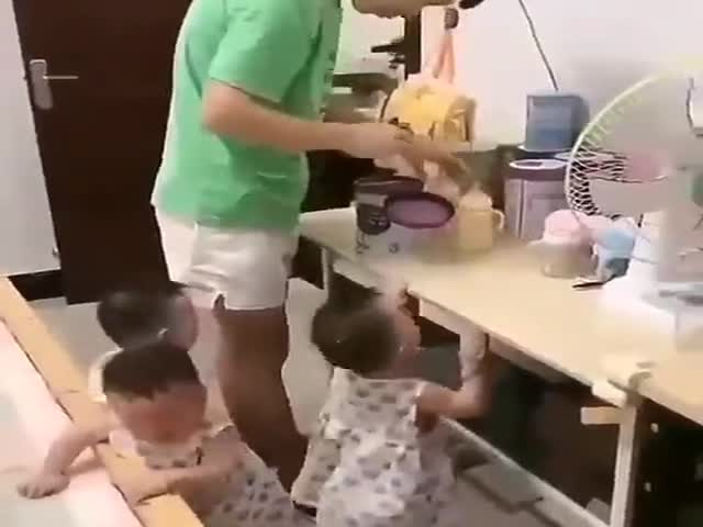 Hungry Triplets
