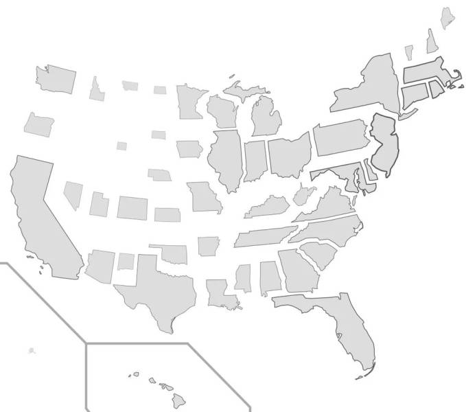 You Didn't Know This About The US, But These Maps Knew All Along!