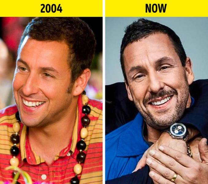 "Actors And Actresses From ""50 First Dates"" 16 Years Ago And Now"