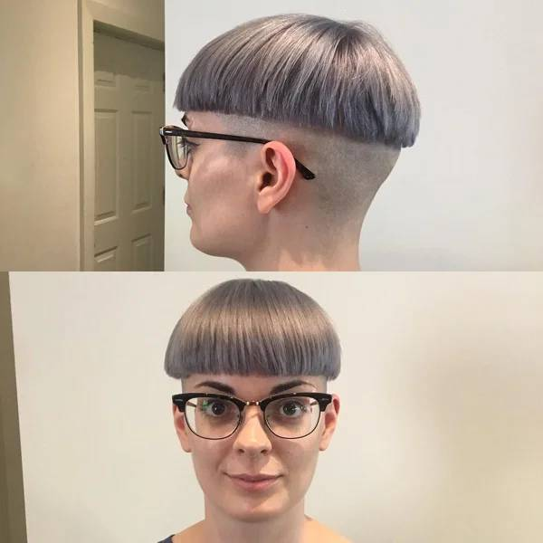 """Let's Call This """"2020-Themed Haircuts""""…"""