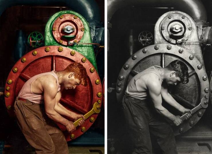 This Austrian Artist Transforms Vintage Photos Of Historic People And Events