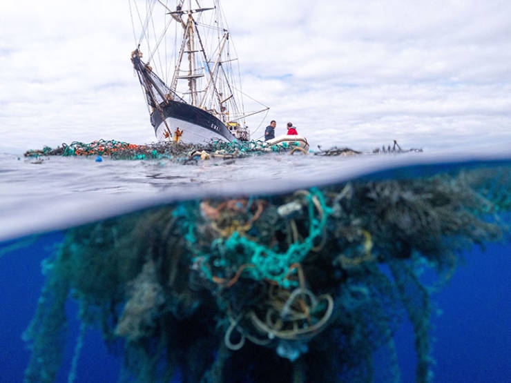 Hawaiian Crew Removes A Record-Breaking 103-Ton Haul Of Plastic Garbage From The Great Pacific Garbage Patch