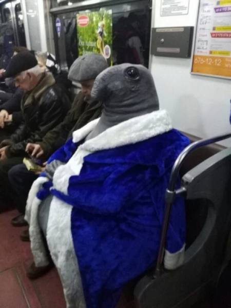 Looks Like Normal People Don't Travel Via Subway…
