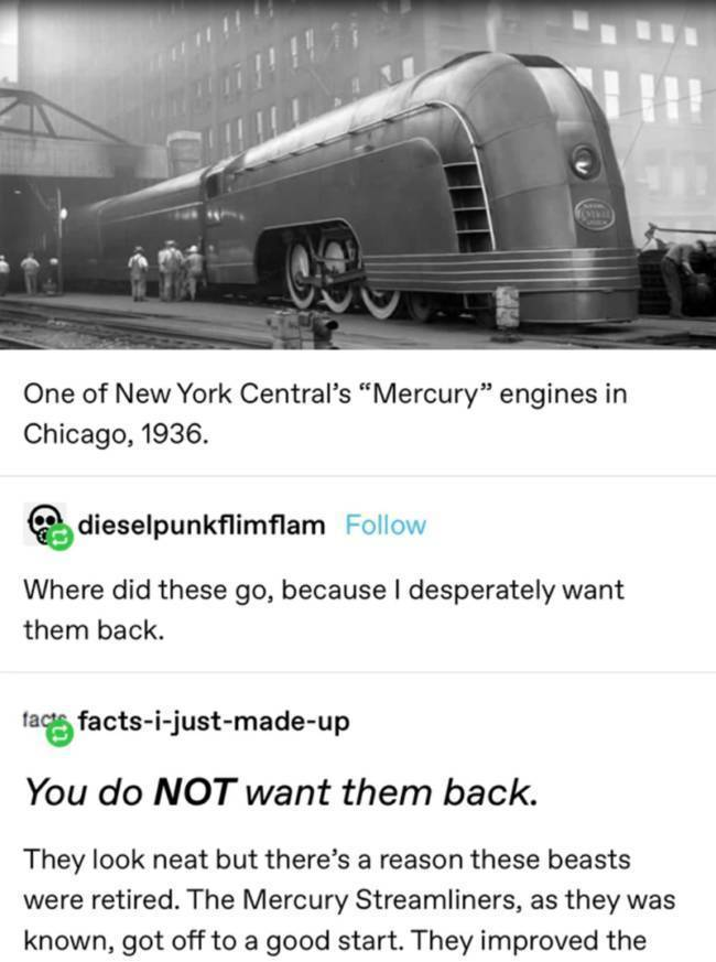 Why Mercury Streamliners Should Never Come Back
