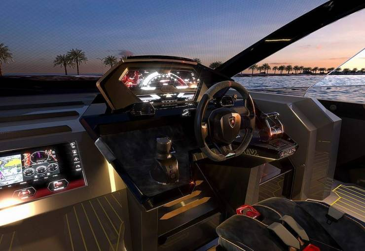 Lamborghini Creates A Super-Yacht Together With Tecnomar