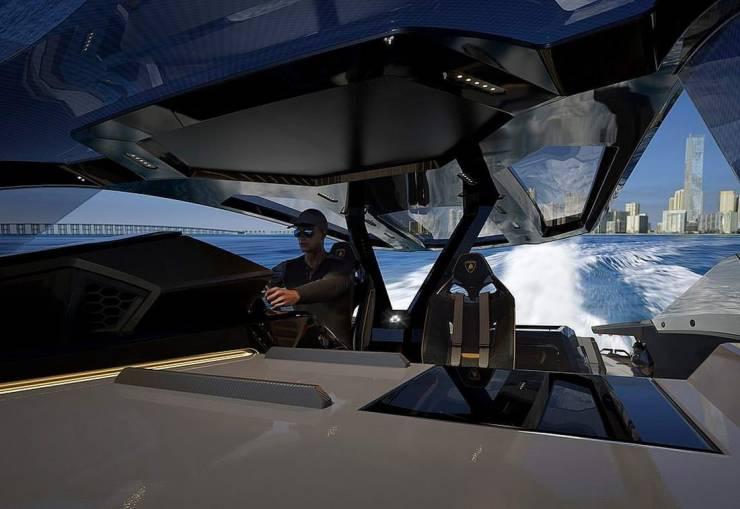 Lamborghini Creates A Super-Yacht Together With Tecnomar