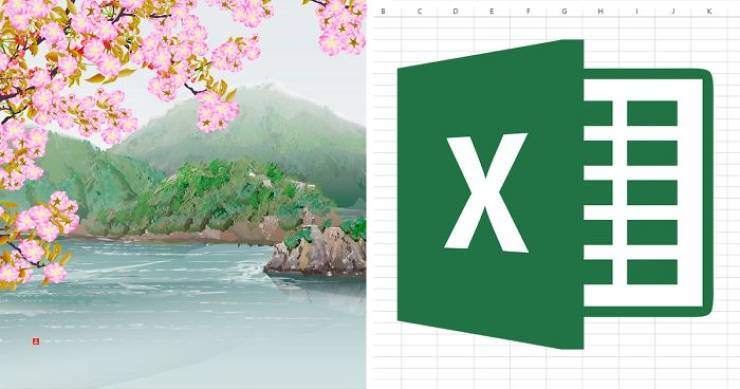 80-Year-Old Man Uses Microsoft Excel To Create Majestic Paintings