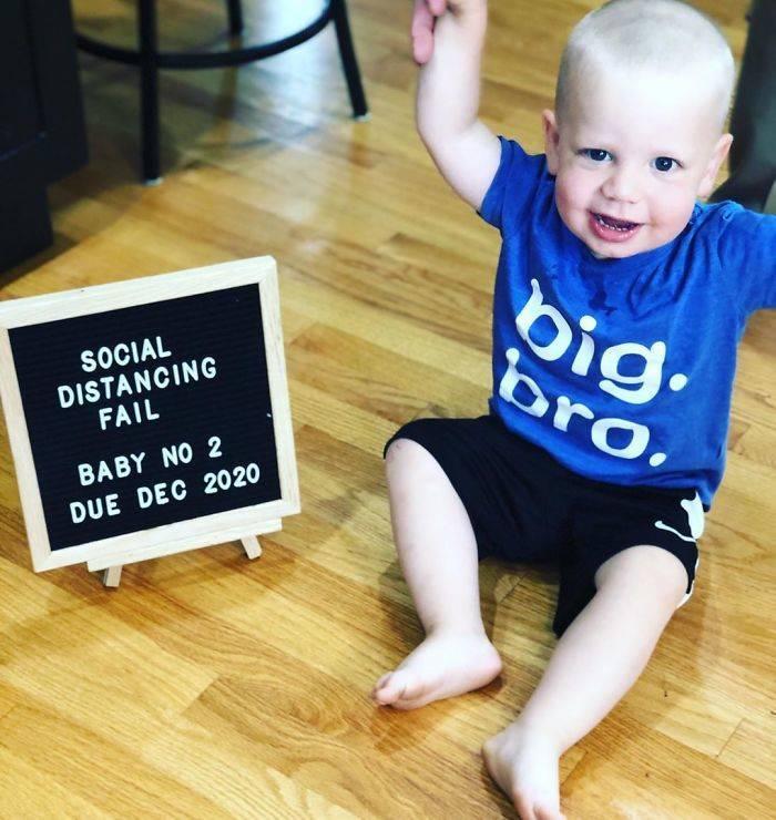 Social Distancing Fails, Also Known As Quarantine Pregnancy Announcements