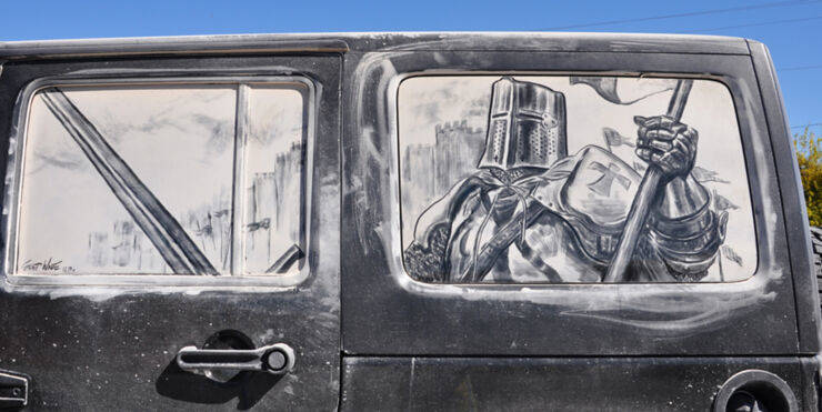 Dirty Cars Will Be Drawn Upon…