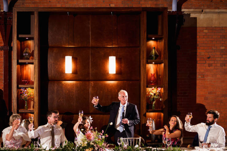 Photographer Shows The Most Intimate Unstaged Photos Of Fathers And Their Daughters At Weddings