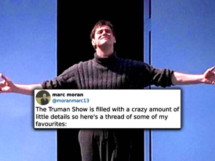 """The Truman Show"" Is Full Of Hidden Gems!"