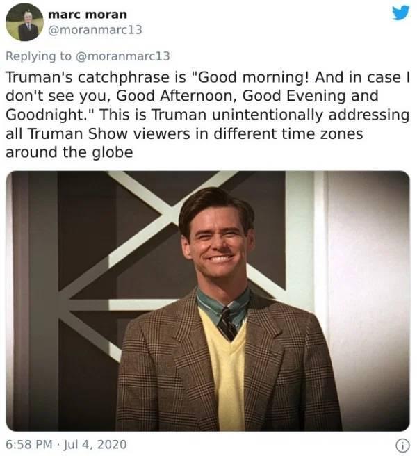 """The Truman Show"" Is Full Of Hidden Gems!"