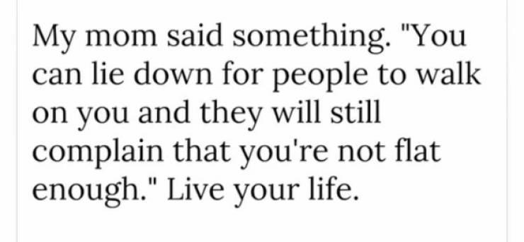 Wisdom, Anyone?