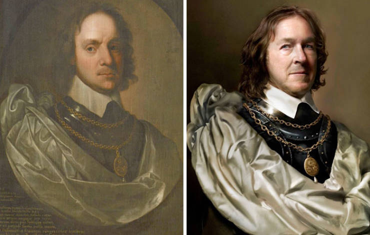 Comparisons Of Historical Figures And Their Direct Descendants