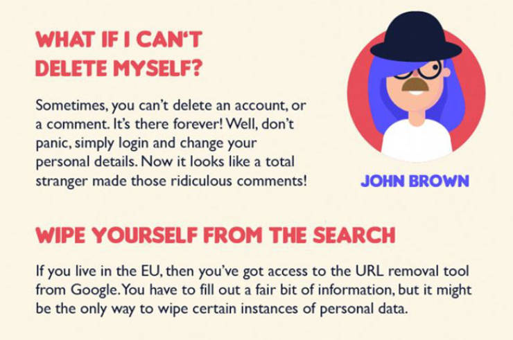 This Is How You Can (Try To) Disappear From The Internet