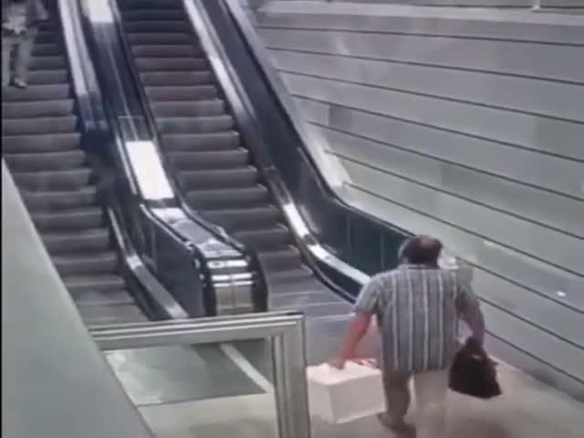 Escalators Are Evil!