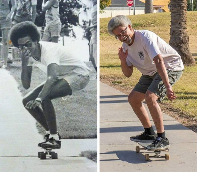 Recreated Childhood Photos Are An Endless Source Of Nostalgia!